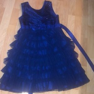 Size 12 blue dress